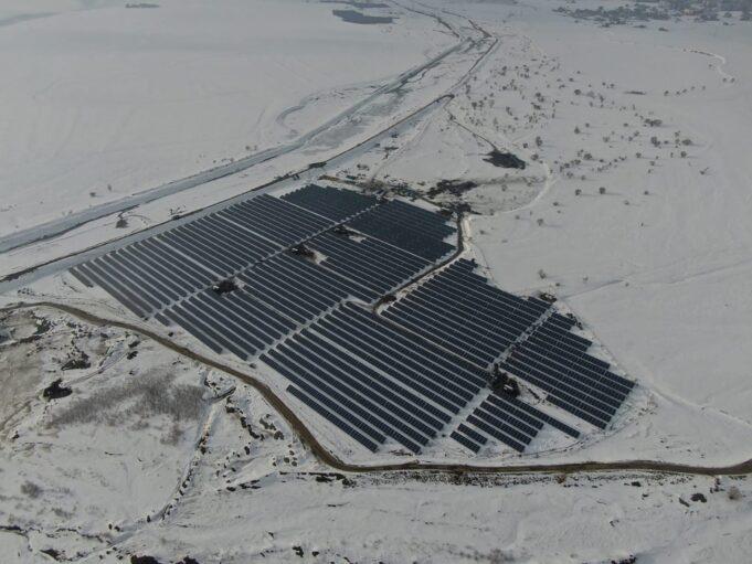 HT Solar Ağrı Suçatağı projesi