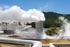 Jeotermal güç santrali alternatif enerji