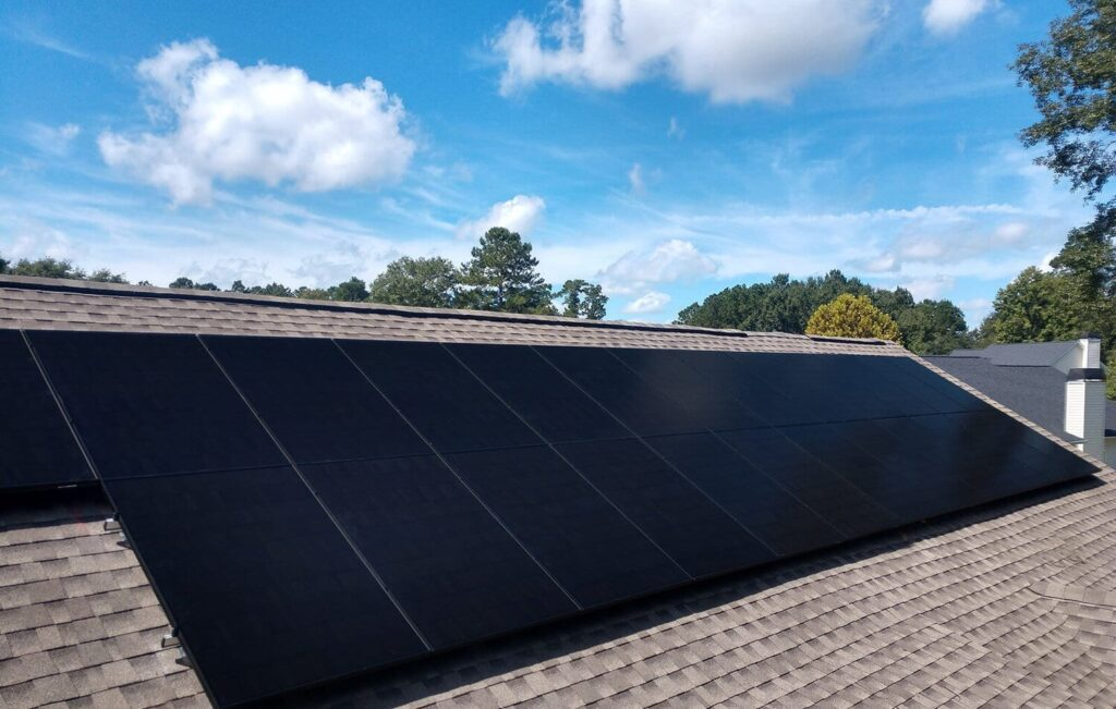 çatı üstü solar panel kurulumu