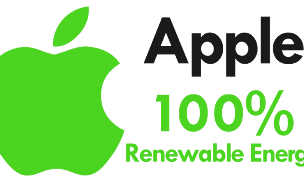 Apple yüzde 100 yenilenebilir enerji