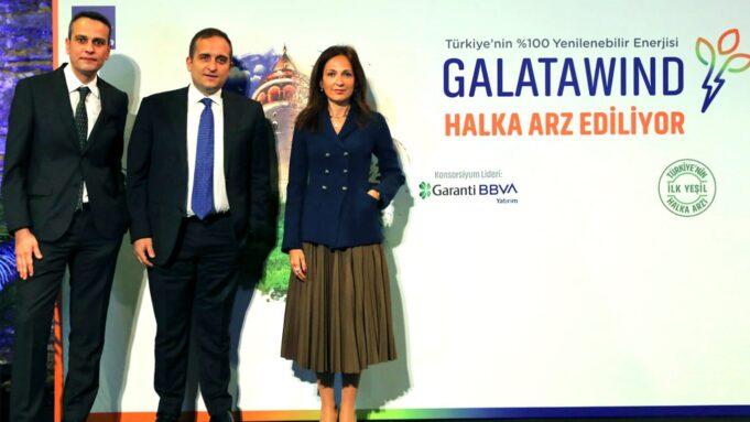 Galata Wind Enerji halka arz basın toplantısı