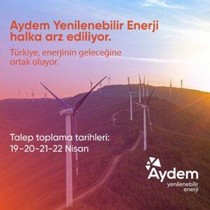 Aydem Yenilenebilir Enerji Halka Arz