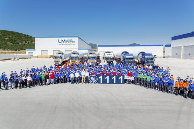 GE Yenilenebilir Enerji Bergama tesisinde 1111'inci türbin kanadını üretti