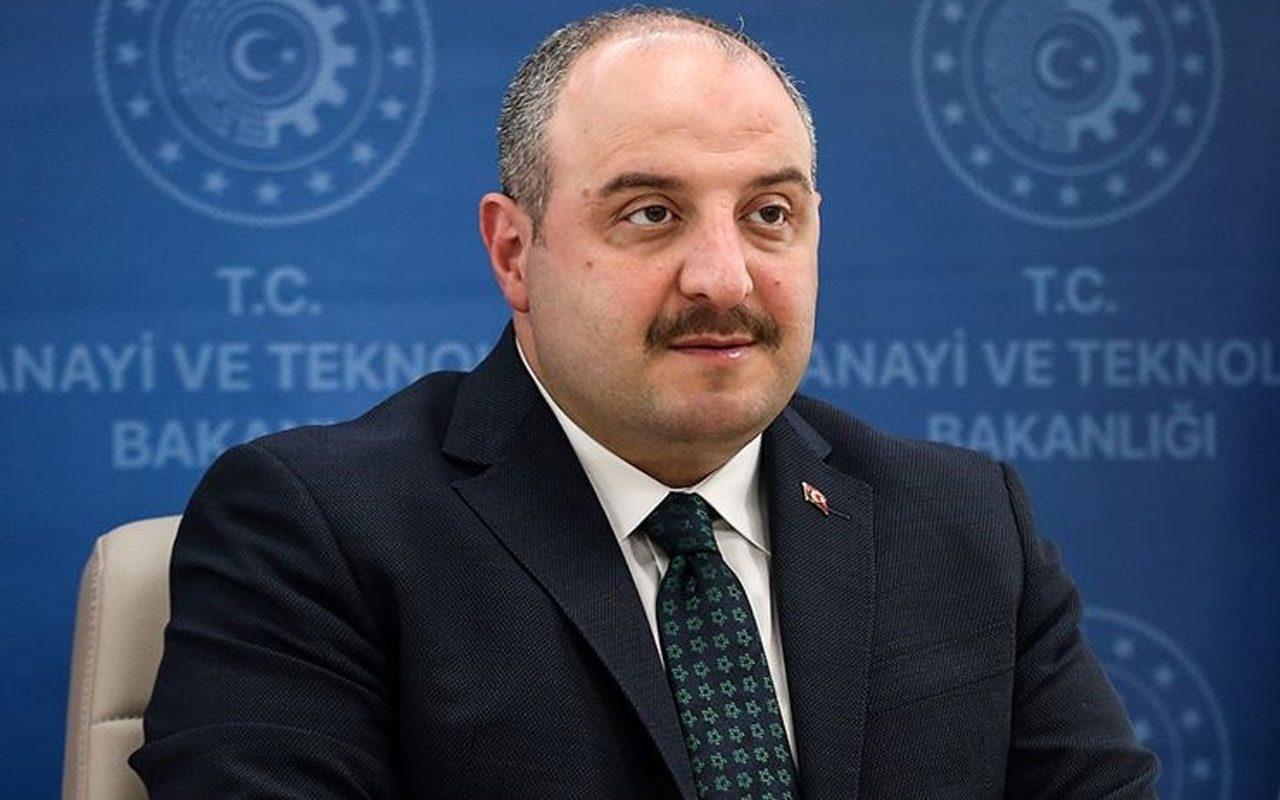 Sanayi Bakanı Mustafa Varank