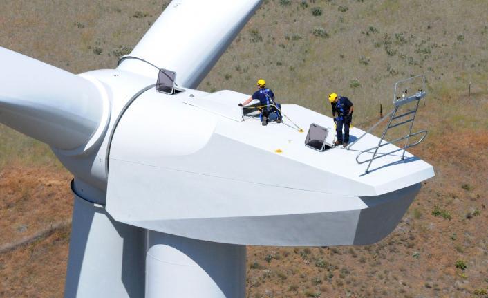 rüzgar türbin bakımı