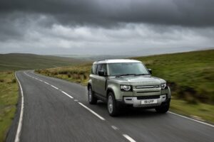 Hidrojen yakıt hücreli Land Rover Defender