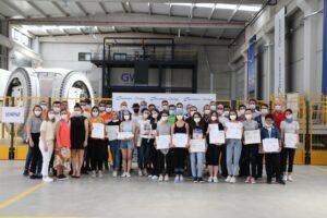 İzmirli meslek lisesi öğrencilerine Rüzgar Türbin Teknolojisi Eğitimi verildi
