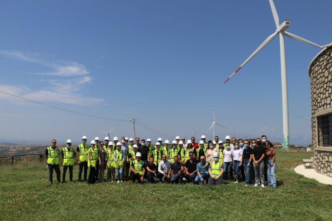 Nordex Türkiye İzmirli öğrencilere rüzgar türbin eğitimi