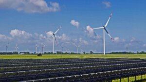 rüzgar ve güneşten elektrik üretimi